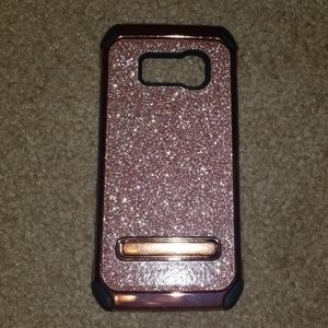 Accessories - Galaxy S8 Rose Gold Case